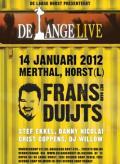 """De Lange """"live\' (Klik voor een grote weergave)"""